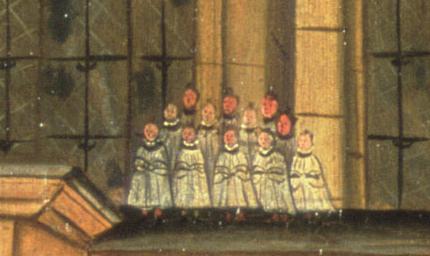 Choir on Sermon House Gipkin